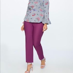 Magenta Purple Skinny Leg Eloquii Pants